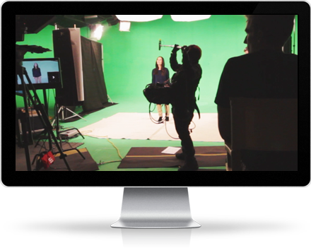 video production green screen